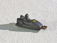 I will take two!!!  BatStick 8GB Batman USB flash drive recycled upcycled by SUPERSOCK.