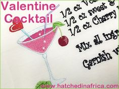 Valentine Cocktail - HatchedInAfrica.com | Product Details