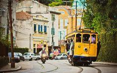 The Bondinho in Santa Teresa, Rio de Janeiro.
