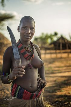 Female from the Hamar tribe , Ethiopia by Marty Windle on 500px