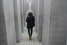 Memorial to the Murdered Jews of Europe in Berlin by Peter Eisenman