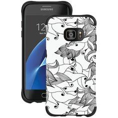 Ballistic Ut1689-B29N Samsung(R) Galaxy S(R) 7 Edge Urbanite(Tm) Select Case (Black Textured Tpu With Tiger Lily Pattern)