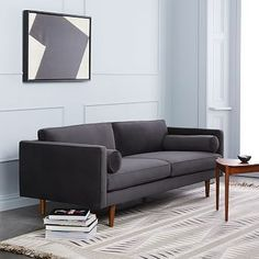 """Quick Ship available in several colors. Deco Weave, Feather Gray color is nice.  80"""" long.  On Sale for $1039.00."""