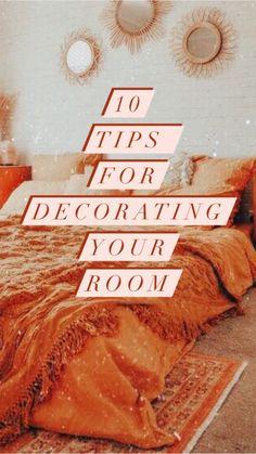 Cute Bedroom Decor, Bedroom Decor For Teen Girls, Room Design Bedroom, Teen Room Decor, Room Ideas Bedroom, Home Room Design, Bedroom Inspo, Cozy Room, Aesthetic Bedroom