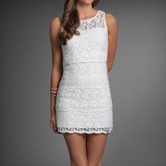 Lace Dress   Abercrombie