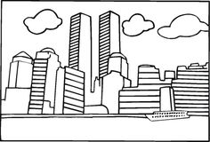 freedom tower coloring pages | 9/11/01 | Pinterest | Color sheets ...