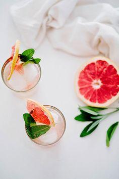 Grapefruit Sage Mimosa :: This is Glamorous.