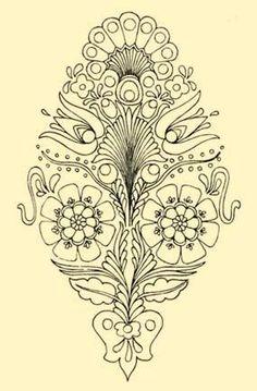 Embroidery, Nógrád, beginning of XX. c.