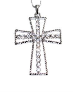 Chunky Cross Necklace - Christian Necklace for $8.49 | C28.com