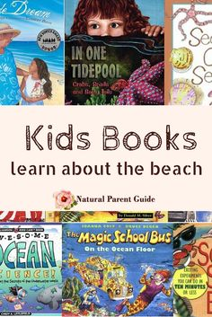 Fabulous books for kids about the beach and ocean  | childrens books about the beach | beach books | picture books | homeschooling | beach unit study | ocean study  | homeschool science