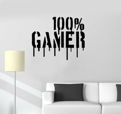 Gamer Wall Vinyl DecalVideo Games Playroom for Boys Gamer Sticker Unique Gift Wall Vinyl Decal Gamer Video Games Playroom for Boys Gamer Man Cave Sticker Gamer Bedroom, Bedroom Decor, Wall Decor, Vinyl Wall Stickers, Wall Vinyl, 100 Games, Free Games, Video Game Rooms, Video Games
