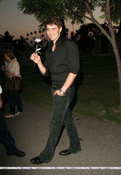 Lee Pace attends the Pushing Daisies Sneak Preview at the Hollywood Forever Cemetery in Hollywood, CA on August 16, 2007.