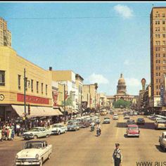 Congress Avenue. 1958 this was 3 years after I was born.