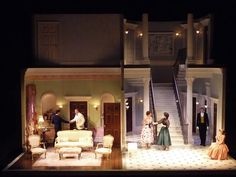 The Secret Marriage. Scenic design by Tom Rogers.