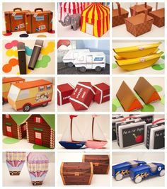 Amazing printable party boxes for every kind of party!