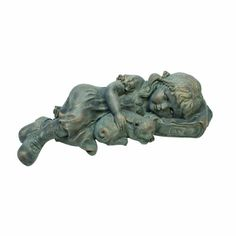 Design Toscano Sarah Slumbers Little Girl and Kitten Garden Statue -- Click on the image for additional details. (This is an affiliate link) #GardeningAccessories