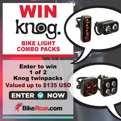 Bike Roar - Win a Knog Bike Light Combo Pack - http://sweepstakesden.com/bike-roar-win-a-knog-bike-light-combo-pack/