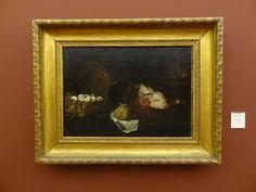 Natura morta con testa di caprone - Jesepe de Ribera. Museo Capodimonte