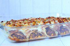 Rezepte mit Herz ♥: Hack - Pfannkuchen überbacken