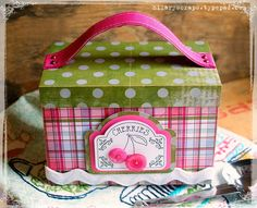 Hilary also made this amazing Cherries Recipe Box using our eclips2 machine! For…