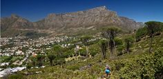 Riding on Table Mountain