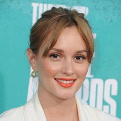 Take note of Leighton Meester's ode to Pantone's Color of the Year: tangerine. Get the look by filling in your lips with a neutral or orange liner before applying lipstick — that way the vibrant shade will last and last. And be sure to check out more ways to wear an orange lip.