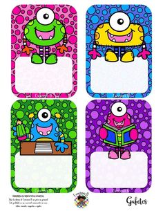 School Themes, School Colors, Classroom Posters, Classroom Decor, School Border, Funny Monsters, Frame Layout, Class Dojo, Animal Crafts For Kids
