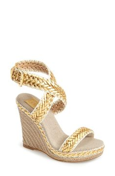 Tory Burch 'Lilah' Espadrille Wedge Sandal (Nordstrom)