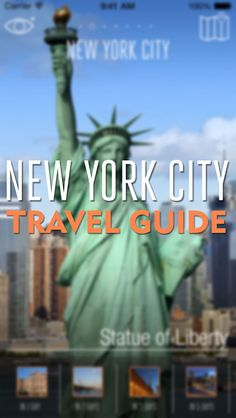 New York City Travel App | Available in 8 DIFFERENT LANGUAGES + Augmented Reality + Offline Maps | NYC Travel Tips | by eTips