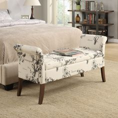 Found it at Wayfair - Designs 4 Comfort Two Seat Bench with Storage