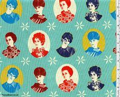 Ruby Star Cameo, Melody Miller, Kokka Japanese Import Fabric