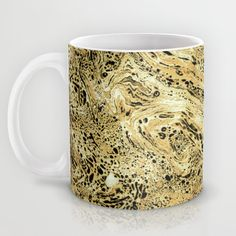 Marble Sand Mug by Amy Sia | Society6
