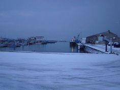 Voici le port de La Cotinière sous la neige. #Cotiniere #Neige #Port