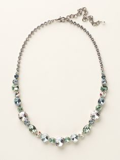 Graduated Classic Necklace - Clearance in Seaside - Sorrelli