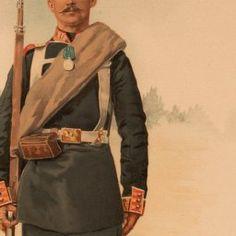 Other ranks, PRÉOBRAJENSKY Guards Regiment of the Imperial Guard