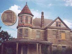 True Hauntings of America: Lady in the Window Ghost Picture