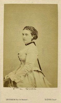 La Princesse Victoria du Royaume-Uni, c. 1870