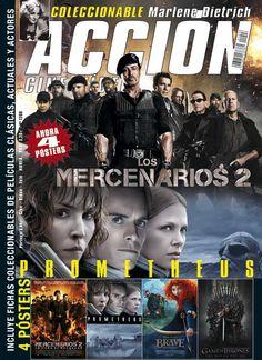 Revista ACCIÓN nº 1208 Agosto 2012. Ahora con 4 pósters !!!!