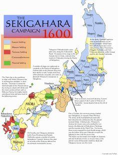 Sekigahara Campaign, 1600