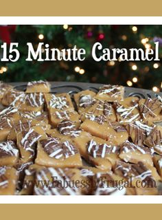 I love to make caramel. I love to eat caramel even more. It is my Christmas tradition to make homemade caramel.