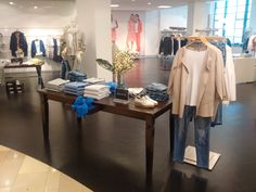 MM   VM and the transformation from products to emotions .      #instore #visualmerchandising #vm #markomargeta #mmlvm #worhrl #ulm #denim #jeans #detail #cashmere #bow #esisto #shoes #tamaris #thesilentdialogue