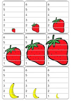 Bataille de fruits Busy Bags, Math For Kids, Speech Therapy, Math Activities, Preschool, Chenille, Activity Books, Educational Activities, Spanish Class