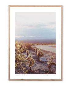 Road to Palm Springs Art Print - Decor - Homewares