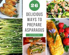 26 Delicious Ways to Prepare Asparagus #justapinchrecipes