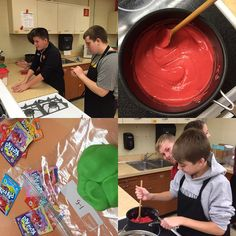 Koolaid Playdough is a great way for students to practice their measuring skills while preparing dough to learn their knife cuts.
