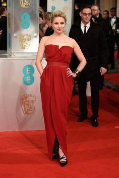 Dianna Agron  - EE British Academy Film Awards 2015 - Red Carpet Arrivals