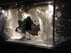 Anthropologie Holiday Display: Windows on the RISD Portfolios