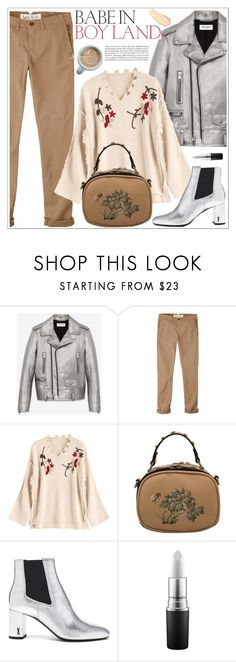 """Ootd"" by teoecar ❤ liked on Polyvore featuring Yves Saint Laurent and Jack Wills"