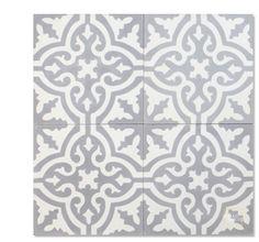 Rosa C24-14 encaustic tile from Mosaic House