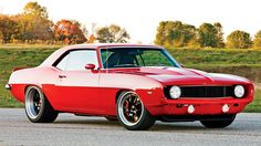 "Mark Stielow's ""Red Devil"" 1969 Camaro"